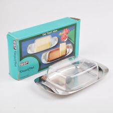 BSF Butterdose mit Kunststoffhaube - Dänisch Perl - Edelstahl 18/8 - 5003121
