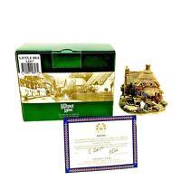 Lilliput Lane Little Bee Cottage Vintage 2000 Ornament L2317 Boxed Deeds New