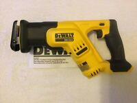 New Dewalt DCS387B 20V 20 Volt Max Variable Speed Reciprocating Saw (Bare Tool)