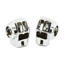 COCOTTES COMMANDES GUIDON CHROMEES HARLEY DAVIDSON TOURING 2008-2013*