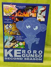 Keroro Gunso Second Season Set 2 Volumes 4 5 6 DVD 3 Disc Set - Anime Region 3