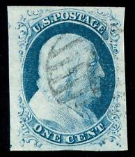 momen: Us Stamps #9 Used Pf Cert Superb