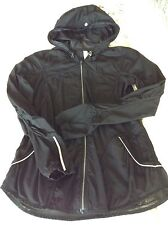 Lululemon Fast Free Jacket ~ Black ~ Sz 2 ~ Lightweight Run Rain ~ EUC
