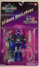 Beetleborgs Saban Blue Stinger Beetleborg Sonic Laser Battler Bandai (MOC)