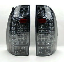LED Rear Tail Lights Smoke Smoked Pair RH LH for Toyota Tacoma 05-14