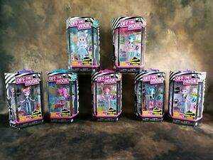 Off The Hook Style Dolls 4in Doll with Mix & Match Fashions Brand New Lot of 7