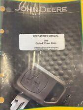 John Deere Manual 702 Carted Wheel Rake Ome96902