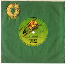 "THE NEW SEEKERS - ALL THE WAY - MEGA RARE PROMO + MISPRINT OZ ONLY 7""45 RECORD"
