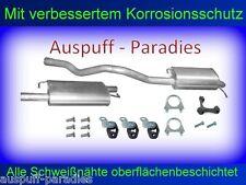 Abgasanlage Auspuff VW T5  2.5 TDi (96KW - 128KW) Multivan (SWB) + Anbaukit