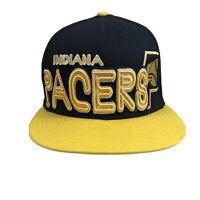 Mens Indiana Pacers New Era 9Fifty NBA Snapback Hat Cap Hardwood Classics Blue