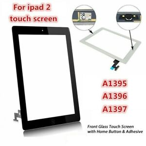 iPad 2 Front Glass Digitiser Touch Screen Assembly With Home Button and Adhesive