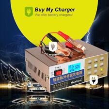 Full Automatic Intelligent 12V/24V 12A Lead Acid Battery Charger Wet/AGM GEL