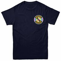 Captain Scarlet Spectrum T-shirt, Superhero Series Inspired Embroidered Tee Top