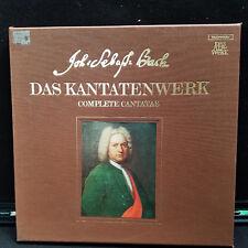 BACH DAS KANTATENWERK COMPLETE CANTATAS VOLUME 5 TELEFUNKEN SKW 5 LP VINYL
