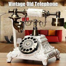 Retro Telefon Vintage Festnetztelefon Haustelefon Nostalgie Tischdeko Geschenk 】