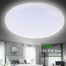 36w Led Fixture Ceiling Light Lamp Modern Round Surface Mount Lobby Bedroom New