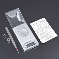 10g / 0.001g LCD Digital Electronic Pocket Gram Jewelry Diamond Scale Silver