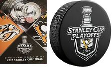 2017 STANLEY CUP FINAL PROGRAM + PUCK PREDATORS PENGUINS EASTERN WESTERN CHAMPS