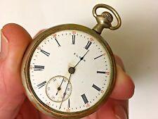 Vintage Elgin   Pocket Watch   7 Jewel