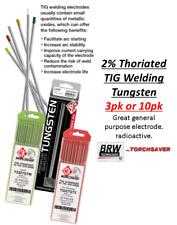 TIG Welding Torch Parts Tungsten Electrodes -2% Thoriated red end - **Premium**