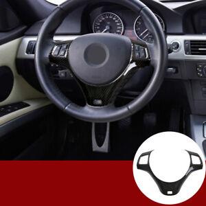ABS Carbon For BMW 1 3 Series E82 E87 E90 E92 E93 Steering Wheel Cover