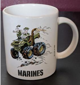 Coffee Mug Cup Marines USMC United States Marine Core Military