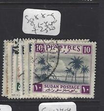 Isudan (P1208B) Sg 88-9, 91-4 Vfu