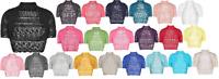 Girls Kids Crochet Short Sleeve Knitted Bolero Shrug Short Caridgan Age 2-14 Yrs