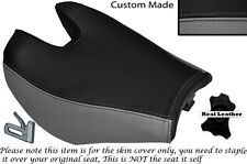 BLACK & GREY CUSTOM FITS HYOSUNG 125 250 650 GTR & COMET 11-14 FRONT SEAT COVER