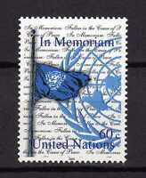 13368) UNO - ONU US$ 2003 MNH** Nuovi** In memoriam 1v