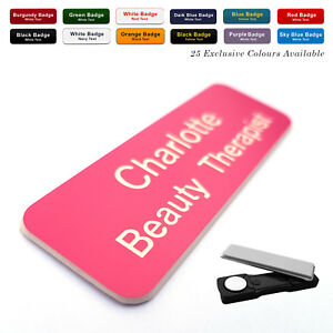 MAGNET Custom Engraved Name Badge Midwife Staff Nurse Student Doctor Surgery GP