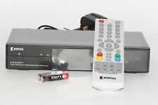 Konig Free To Air Digital Satellite Receiver Freesat, Compact Design Free Cables