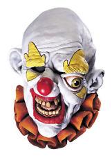 Morris Costumes Horror Freako Full Over Head Latex Clown Red Yellow Mask. MI7085