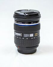 Olympus Zuiko 12-60mm f/2.8-4 SWD ED Lens For Four Thirds- Nice Condition