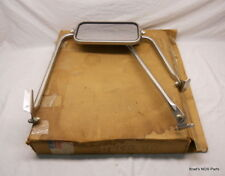 NOS MoPar 1972-1977 Dodge D100  Truck West Coast Mirror & Brackets TOWING