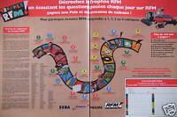 PUBLICITÉ 1993 TROPHÉE RFM ÉCOUTEZ LES QUESTIONS POSÉES CHAQUE JOUR SUR RFM