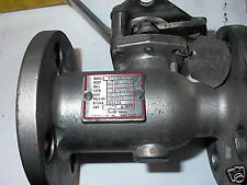 "APOLLO  1"" STAINLESS STEEL BALL  VALVE  4"" FLANGE"