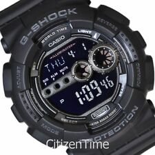 -NEW- Casio XL Case G-Shock Bright LED Watch GD100-1B