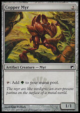 MTG COPPER MYR FOIL - MYR DI RAME - MRD - MAGIC