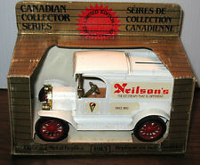 RARE ERTL 1913 FORD MODEL T CANADIAN COLLECTOR NIELSONS ICE CREAM MIB 1/25