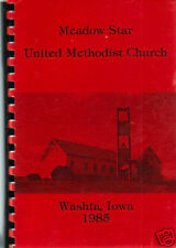 *WASHTA IA 1985 VINTAGE *IOWA COOK BOOK *MEADOW STAR METHODIST CHURCH & FRIENDS