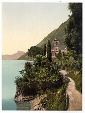 Lugano Oria Tessin A4 Photo Print