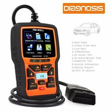 Scanner Diagnosis Car OBD2 Foxwell NT301 Reader Code Fault & Sensor O2