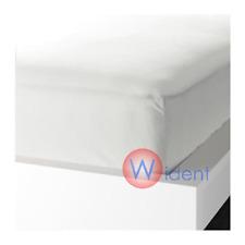 IKEA KNOPPA Fitted Sheet Twin White