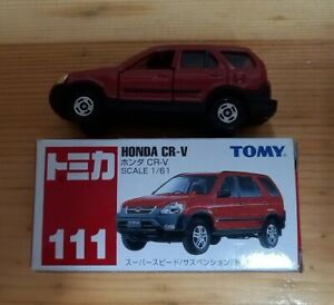 Vintage Tomy Tomica Honda CR-V No.111 with Box Year 2002