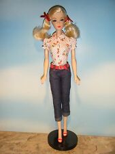 BARBIE CHERRY PIE PICNIC DOLL, COA & DOLL STAND