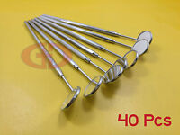 40 Mirror Handle With Mirror #4 German Quality Dental Surgical Instrument GD