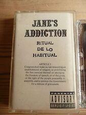 Jane's Addiction Ritual De Lo Habitual Album  Clean Cover Cassette Tape 1991