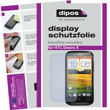 1x HTC Desire X screen protector protection guard crystal clear