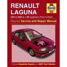 Renault Laguna 1.6 1.8 2.0 Petrol 1.9 2.2 Dsl 94-00 (L to W Reg) Haynes Manual